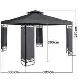 Gartenpavillon 3x3