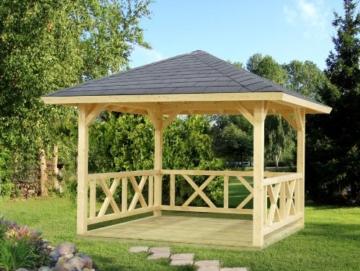 Palmako Pavillon Betty 9,0 natur -