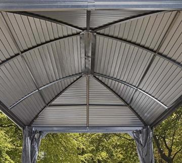 Pavillon mit festem Dach