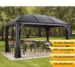 Relativ ▻ Pavillon mit festem Dach ++ Die schönsten und besten Pavillons ++ TM59